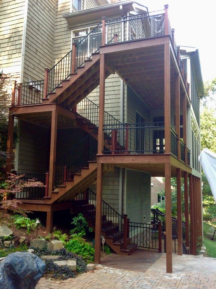 Balcony Shade Design: Deck And Shade Structures